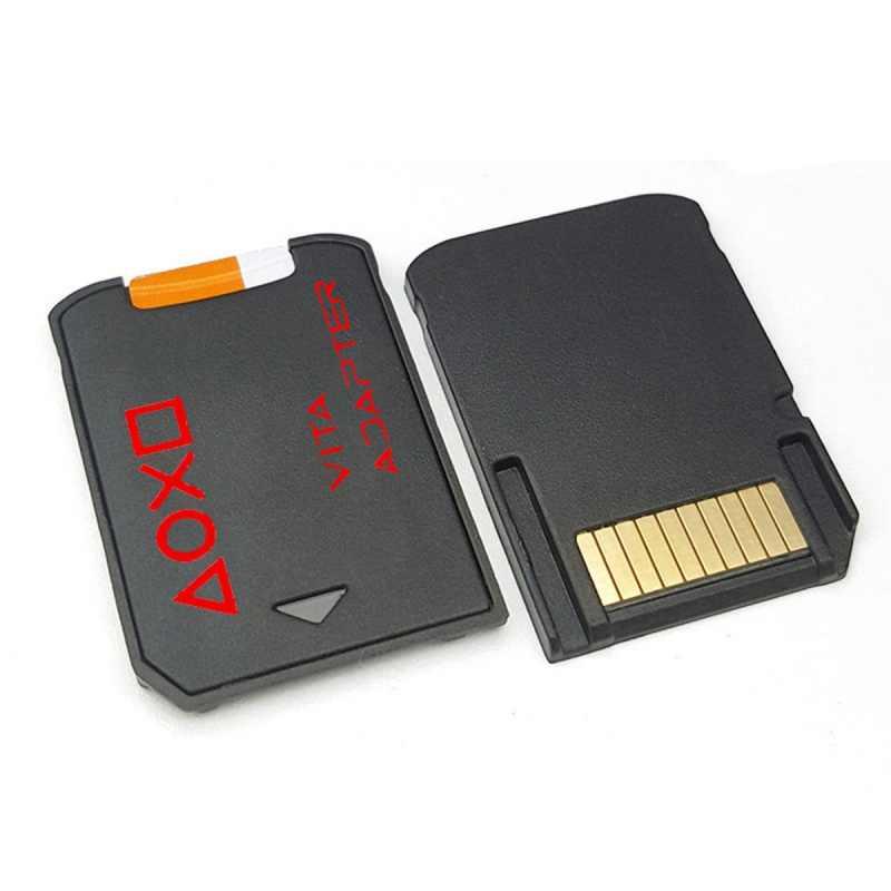 Versão mais recente 3.0 sd2vita para ps vita cartão de memória para psvita jogo card1000/2000 psv adaptador 3.60 sistema 256 gb micro cartão sd