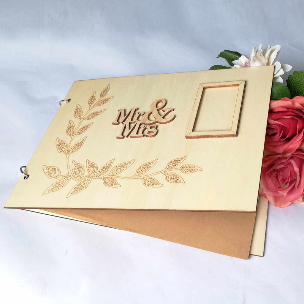 2019 ใหม่ 1 Pcs หนังสือที่น่าจดจำง่ายข้อความป้ายของขวัญหนังสือสำหรับงานแต่งงานของขวัญคุณภาพสูง