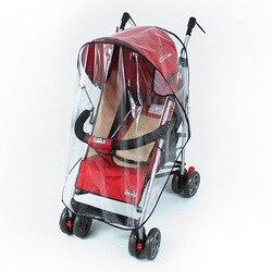 Водонепроницаемый дождевик для детских колясок с защитой от пыли дождевик для детских колясок аксессуары для колясок детские коляски