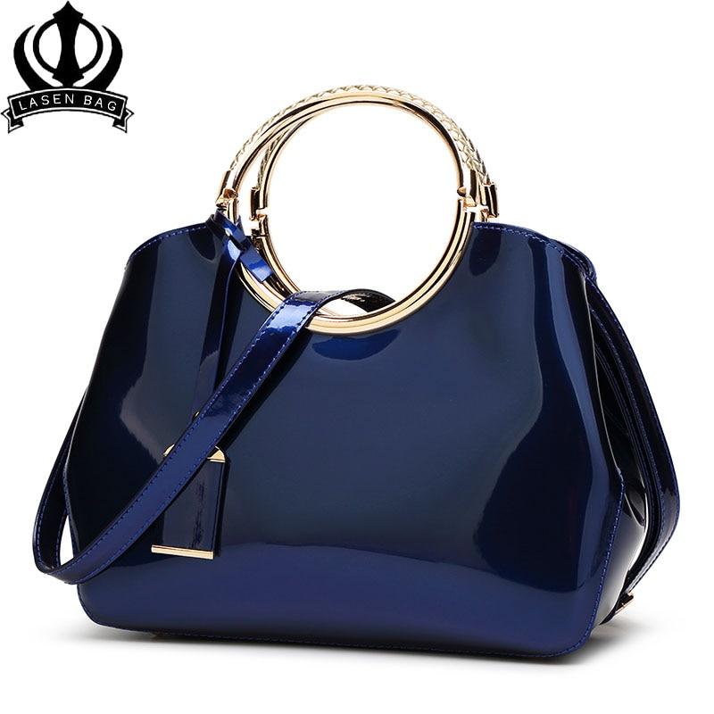 New High Quality Patent Leather Women Bag Ladies Cross Body Messenger Shoulder Bags Handbags Women Famous Brands Bolsa Feminina