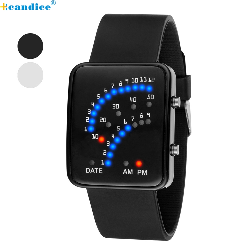 popular futuristic watches for men buy cheap futuristic watches high quality women mens futuristic ese style multicolor led sport wrist watch oct18