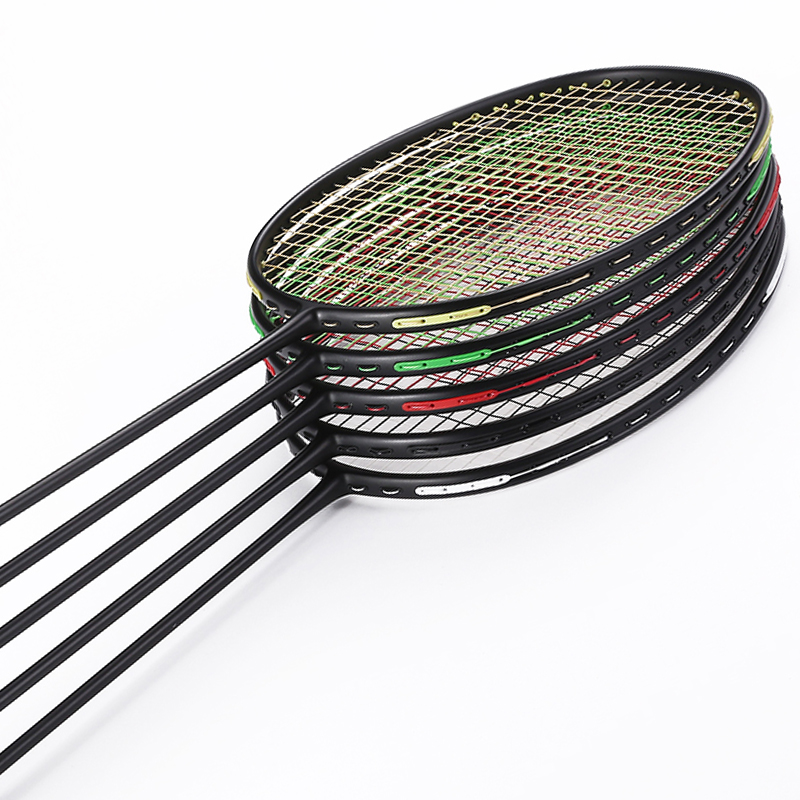 1 PC Stpsen 4U 82g(unstrung) VT-ZF2 Black Badminton Racket, T Jiont Offensive Badminton Racket Quality Carbon Racket