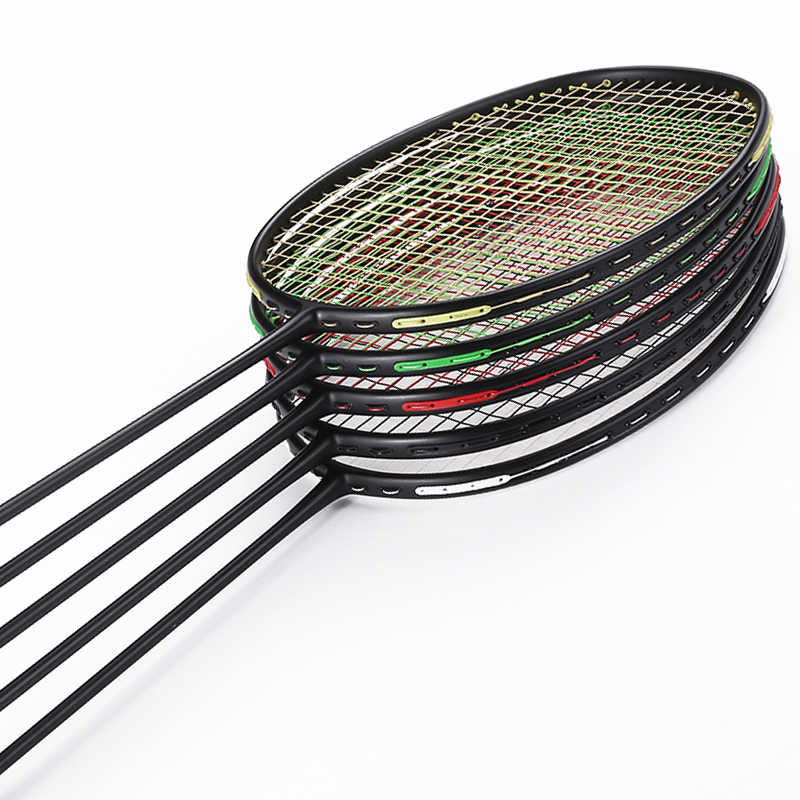 1 Box Badmintonschläger Schläger Ösen Ösen Zubehör Schwarz