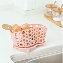 BF040 The kitchen sink drain basket tableware suction Storage Basket 17.6*8*10.5cm