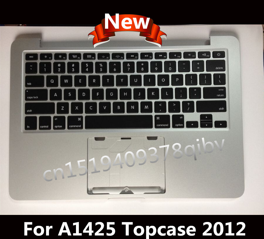 New For Macbook Pro 13.3'' A1425 Topcase Palmrest Top case with US keyboard no track pad 2012 цена