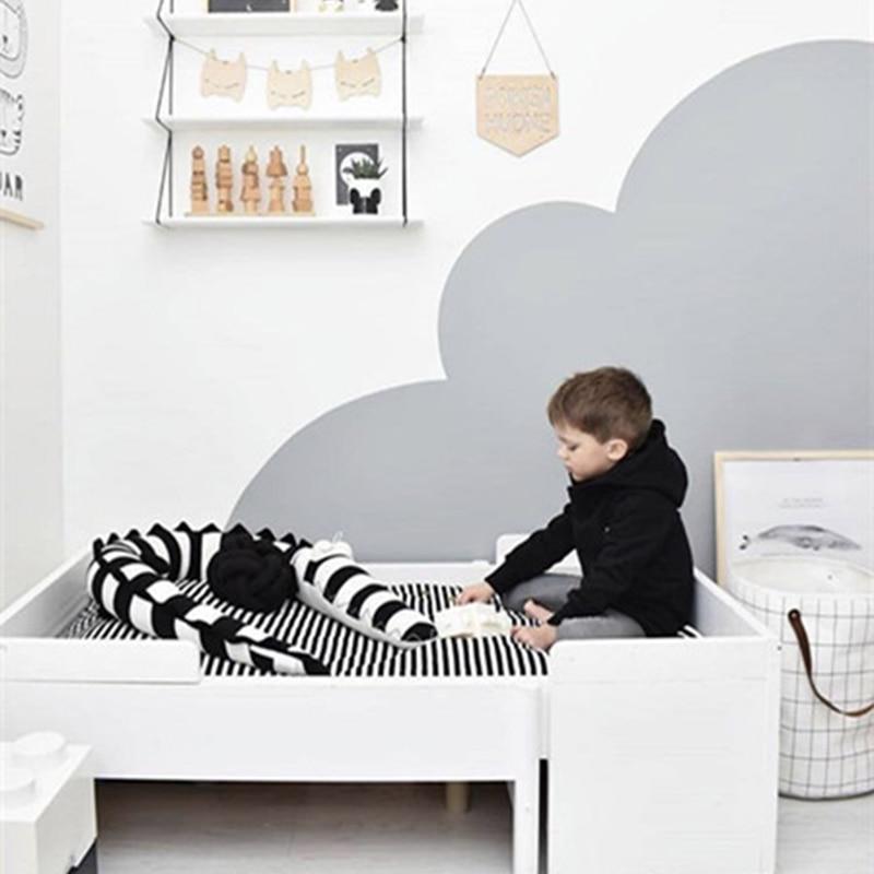 Longitud 185 cm INS Baby Baby Bed Bumper Animal cocodrilo Forma - Ropa de cama