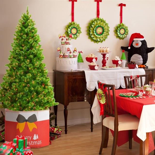 36 30cm Foldable Tree Skirt Box Christmas Root Decorative Non Woven Xmas