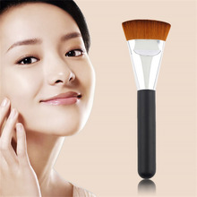 Newest Hot Search 1pcs Professional Cosmetic Pro 163 Flat Contour Brush Big Face Blend Makeup Brush Worldwide Worldwide sale