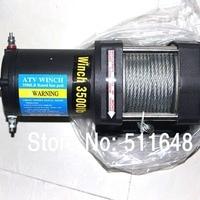 Free Shipping 3500LB winch,electric winch 12V,4X4/UTV/ATV WINCH