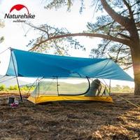 Naturehike Ultralight 15D Nylon Camping Sun Shelter 240x290cm Canopy Outdoor Hiking Beach Tarp Tent