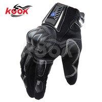 שחור מלא חלק יד מוטוקרוס מירוץ חצי אצבע אופניים כפפות אופנוע אופני אופנועים כפפת guantes luvas moto הגנה