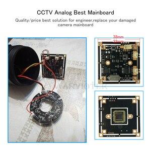 Image 3 - CMOS sensörü Analog güvenlik kamerası modülü hareket sensörü 700TVL güvenlik Video gözetim Analog kamera Mini CVBS güvenlik sistemi