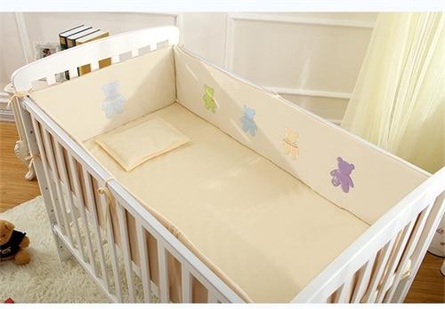 Organic Cotton Baby Cot Bedding Set