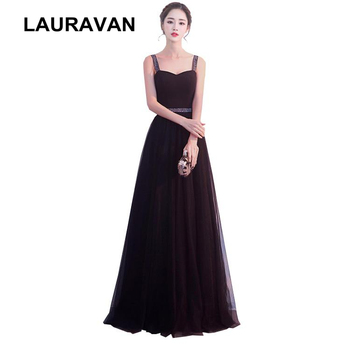 elegant spaghetti strap long sweet 16 sweetheart puffy ball gown bridesmaid party dresses or ladys dresses 2020 teen dress