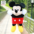 Infant Children Hand Puppet cartoon mickey red kids baby plush Stuffed Toy Puppets toys Christmas birthday gift