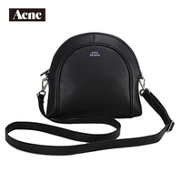 Newest Acnc legend women Half moon bag ,genuine leather women shoulder Bags, lady real leather handbag,free shipping