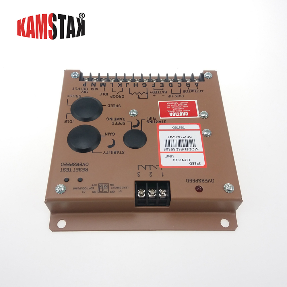 Generator set GAC speed control board ESD5550E low speed protection governorGenerator set GAC speed control board ESD5550E low speed protection governor
