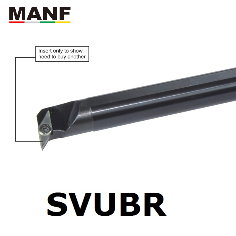 MANF Lathe Cutter 32MM 40MM S32T-SVUBR16 CNC Turning Lathe Boring Tools <font><b>Vcmt</b></font> <font><b>160404</b></font> Inserts Screw Type Internal Turning Holder image