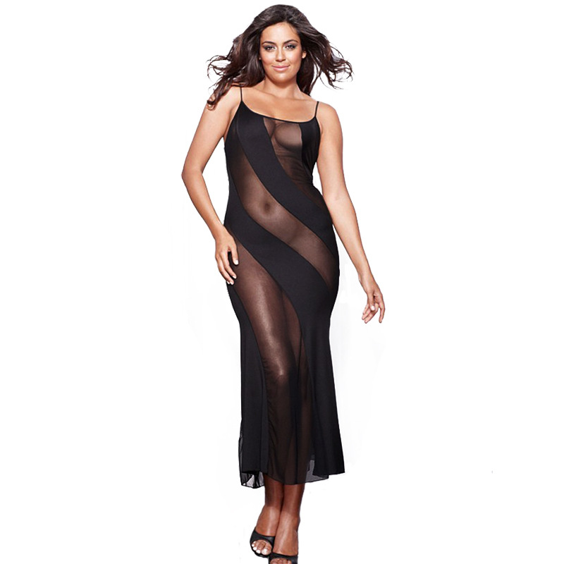 buy nightgown women sexy erotic lingerie dress sleepwear plus size 4xl 5xl 6xl. Black Bedroom Furniture Sets. Home Design Ideas