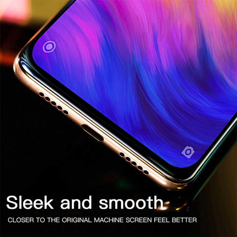 Bordo Curvo Piena Copertura in Vetro Temperato per Xiaomi Redmi Andare S2 Y2 Y3 9D Protezione Dello Schermo per Xiomi Redmi Nota 4X4 5 6 7 Pro