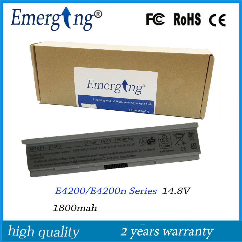 4cells 14.8V New High Quality Laptop <font><b>Battery</b></font> for Dell <font><b>E4200</b></font> 00009 312-0864 451-10644 453-10069 F586J R331H R640C image