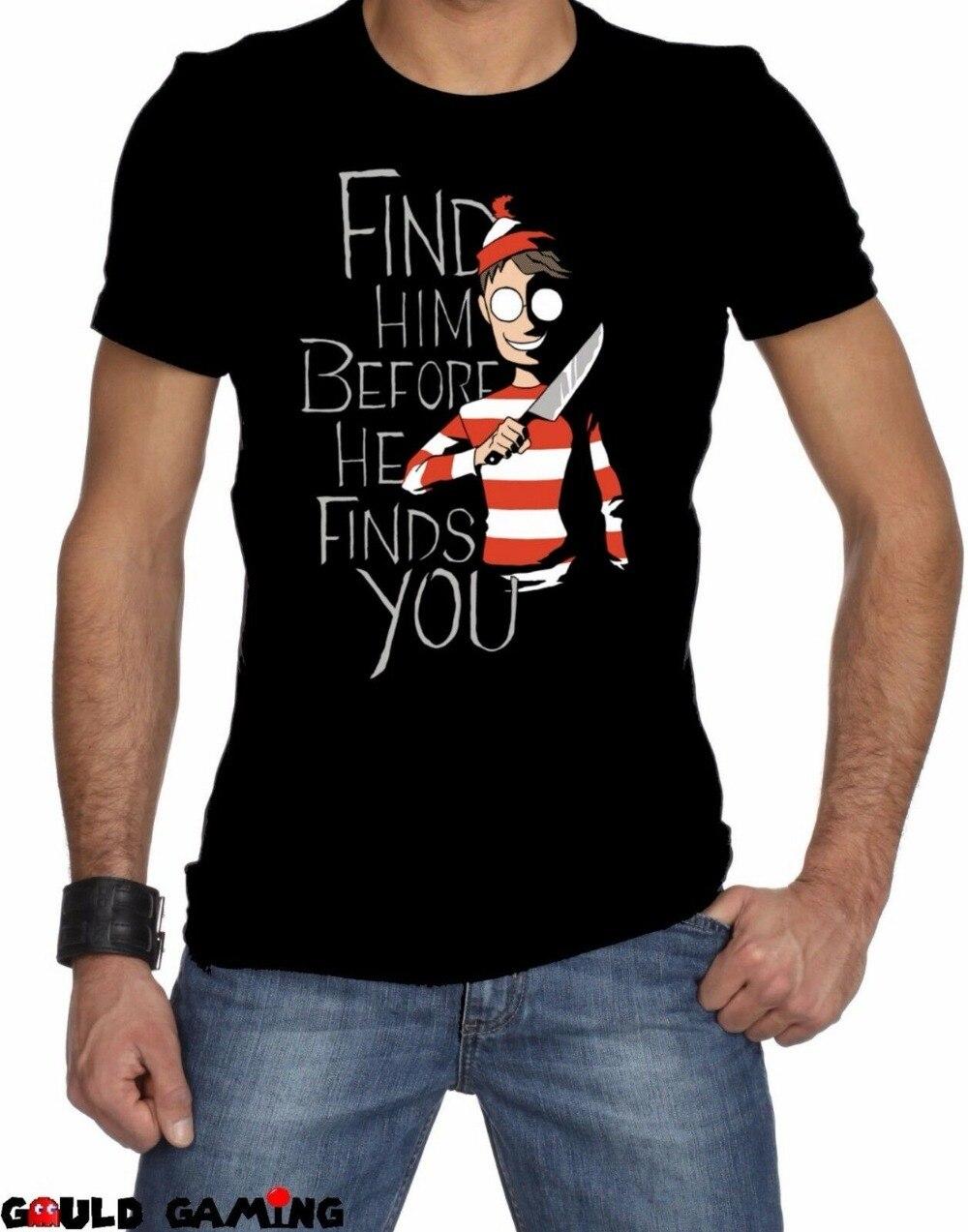 Waldo Freddy vs Wally T shirt Design Krueger Parody
