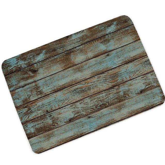 US $14.68 |Changyun Rustico Vecchio Fienile In Legno Tappetini Soggiorno  Zerbino Coperta con Anti slittamento, tappeti per Cucina e Bagno in  Changyun ...