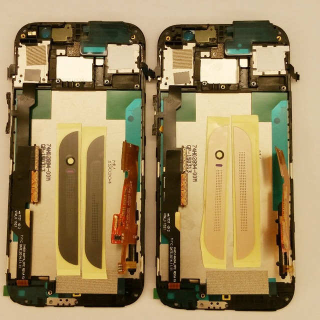 100% Original For HTC One M8S LCD Display With Touch Screen Digitizer with frame Assembly M8si M8su Repair Parts Replacement