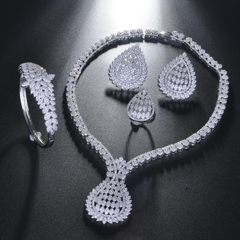 Женский свадебный комплект ювелирных изделий be 8 индийский