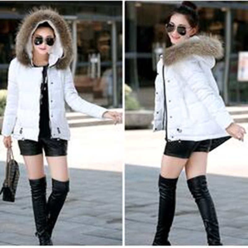 ФОТО New 2016 Explosion  Models  A  Word  Edition  Winter  Down  Size  Cotton Padded  Coat
