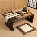 Muebles orientales Chino Té De Baja Pequeño Rectángulo 80x39 cm Sala de estar Mesa Auxiliar Para El Té, café Antiguo Gongfu Tabla de Té