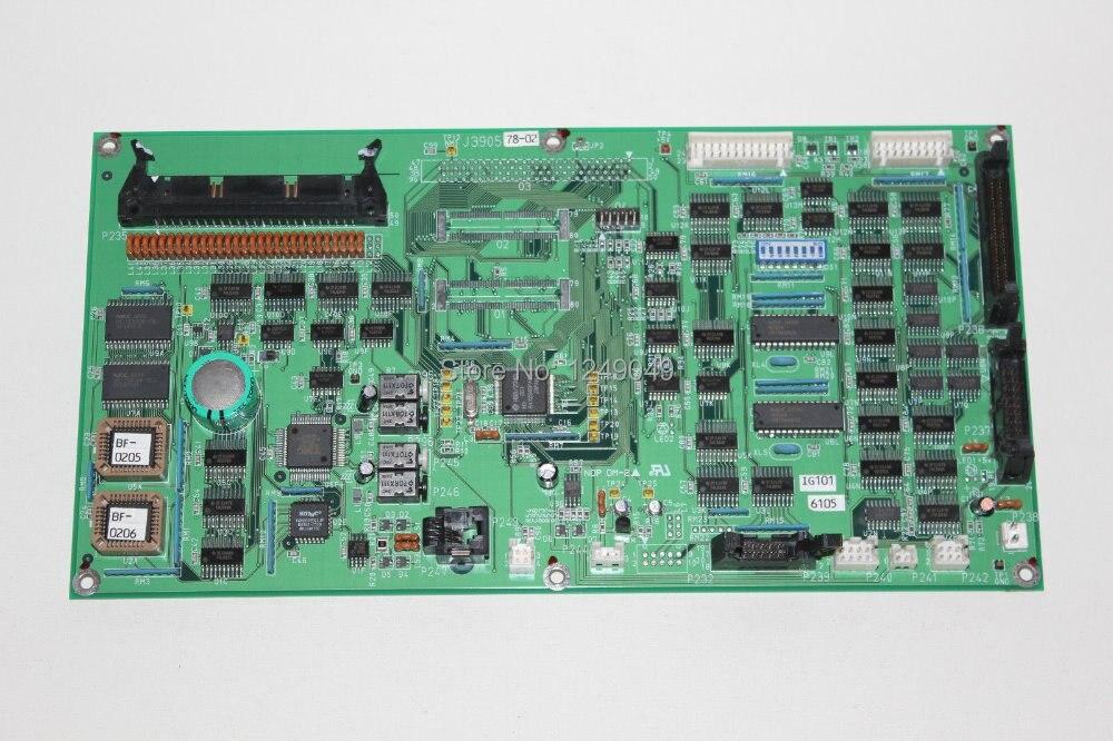 Utilisé Noritsu 3011 J390578 Imprimante Contrôle PCB