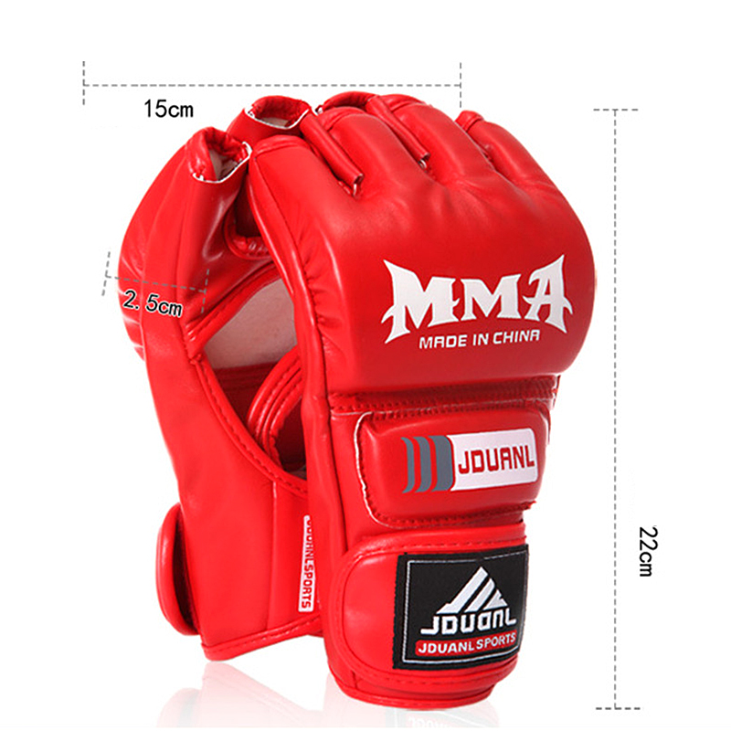 Sandbag Training Boxing font b Gloves b font Men Taekwondo Protector PU Muay Thai Sanda Kungfu