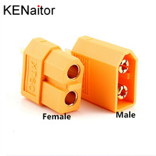 XT60 XT-60 XT 60 штекер Женский Пуля Инструменты для наращивания волос плагин Оптовая Высокое качество для RC Lipo Батарея