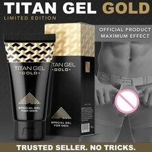 5pcs ORIGINAL Russian Titan Gel Gold 50ml, Increase Penis En