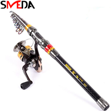 1.8M 2.1M 2.4M 2.7M 3M 3.6M Fishing Rod Carbon Spinning M Power Telescopic Fish Carp Rock Rods
