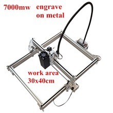 Mini desktop DIY Laser engraving engraver cutting machine Laser 3040 CNC print imag 30*40cm big working area high precision