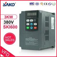 Sako 380 V 3KW VFD высокопроизводительный конвертер переменной частоты Инвертор для скорости двигателя