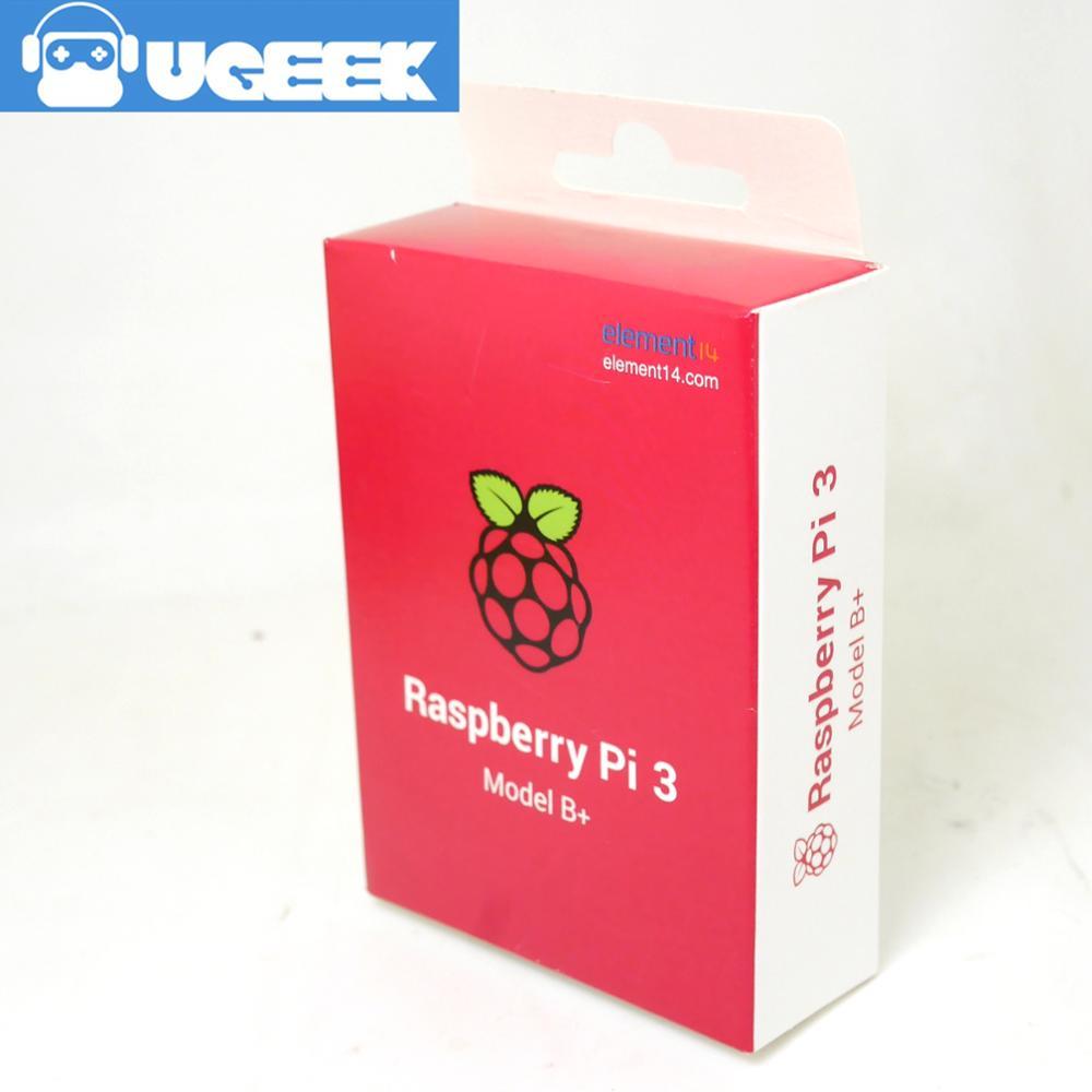 E14 2018 New Raspberry Pi 3 Model B+plus Board 1GB LPDDR2|BCM2837B0|Quad-Core | bpi | UGEEK original 2018 new raspberry pi 3 model b plus board 1gb lpddr2 bcm2837b0 quad core ras pi3 b pi 3b with wifi