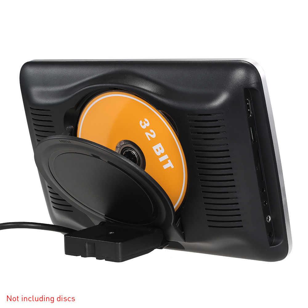 """10.1 """"écran numérique touche tactile tablette Style voiture appuie-tête lecteur DVD Plug and Play arrière siège accessoires de voiture de divertissement"""