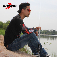 KUYING TOP CASTER 2 1M Spinning Casting Lure Fishing Rod Cane Stick Pole ML Light Soft