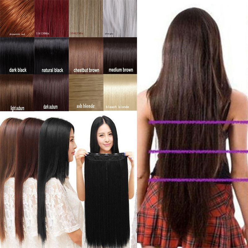 Snoilite long straight clip in 34 full head hair extension 30inch snoilite long straight clip in 34 full head hair extension 30inch 76 cm length synthetic hairpiece on aliexpress alibaba group pmusecretfo Choice Image
