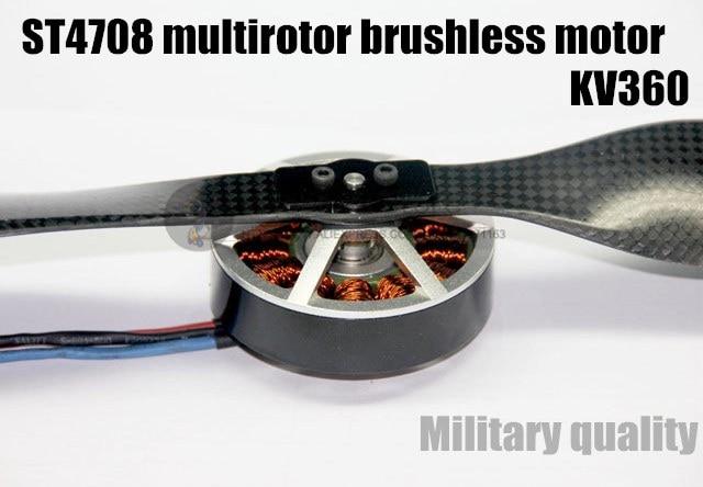 ST4708 KV360 multirotor brushless motor(cw/ccw) for DIY PFV Aerial drones T810/T980/S1200quadcopter/ hexacopter/Octocopter ключ jtc 4708