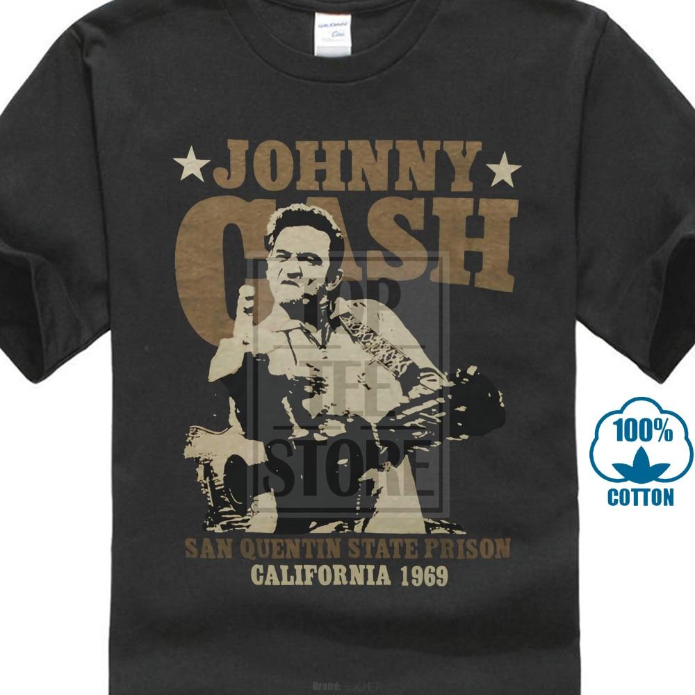Custom   T     Shirts   Men'S Crew Neck Short Sleeve Best Friend Johnny Cash   Shirts