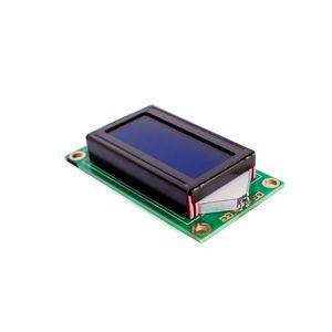 Image 1 - 10 개/몫 뜨거운 판매 8x2 LCD 모듈 0802 문자 디스플레이 화면 파란색 또는 녹색