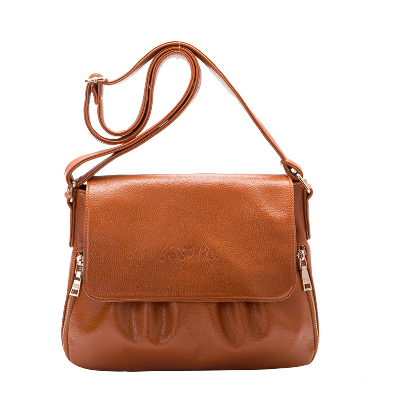 Women Genuine Leather Bag Hot Sale High Quality Casual Bucket Bags Shoulder Bag Women Messenger bags 2016 new fashion 100% genuine leather women bag casual messenger bag first layer cowhide women shoulder bags hot sale