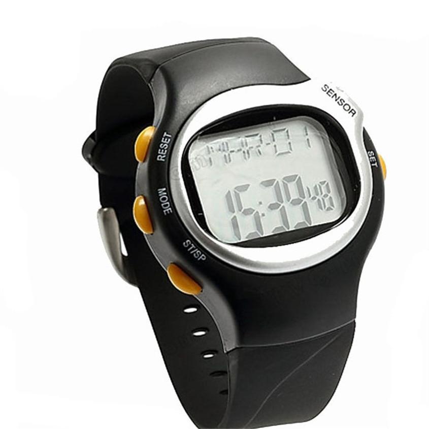 New Digital Watch Men LED Pulse Heart Rate Monitor Calories Counter Fitness Watch Wristwatches J14 herren uhren