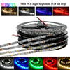 5M 5mm Width 3528 Narrow Side White Warm White Blue Red Green High Brightness Flexible Light