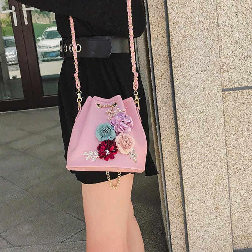 46773364457 ... Women Evening Bag Ladies Flower Wedding Clutches Female Pink Black  Clutch Purse Applique Flower Pearl Leather ...