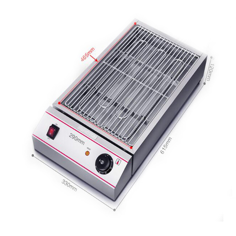 Electric Barbecue Pits Electric Griddles Barbecue Grill Smokeless Family/Party/Outdoors Picnic Grill Machine ESK-1 3 5 people outdoor picnic thick stainless steel barbecue grill portable folding grill barbecue tools
